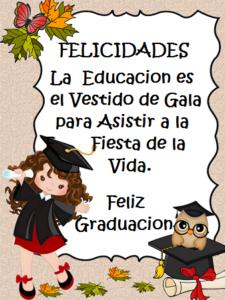deseos de éxito educación