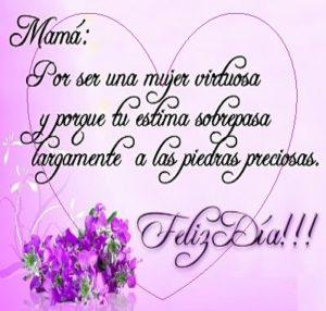 felicidades a todas las mamás preciosa