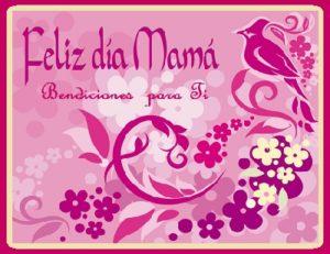 felicidades a todas las mamas siempre