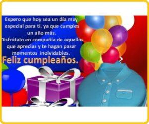 felicidades en tu cumpleaños especial
