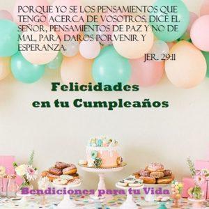 felicidades en tu cumpleaños vida