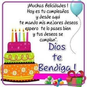 felicidades en tu dia Dios