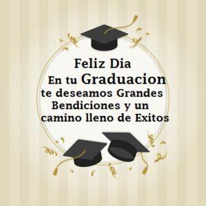 felicidades por tu graduacion feliz