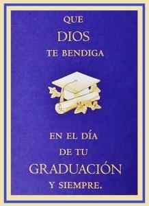 felicidades por tu graduacion siempre