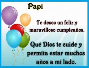 feliz cumpleaños para mi papá maravilloso