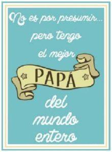 palabras para el mejor papa mundo