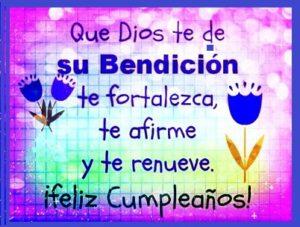 deseos de cumpleaños Dios