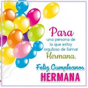 cumpleaños para tu hermana especial