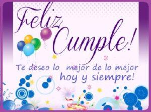 cumpleaños feliz siempre