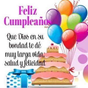 desear feliz cumpleaños vida