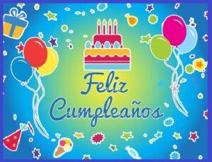 feliz cumpleaños para niños dia