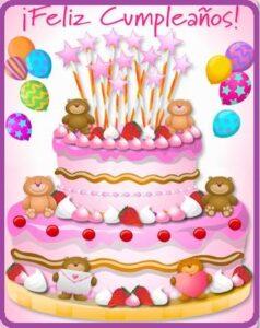 feliz cumpleaños para niños niñas