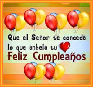 Cumpleaños con Alegría feliz
