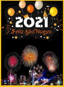 deseos de año nuevo alegría