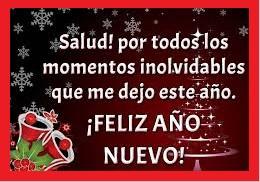feliz año nuevo saludos