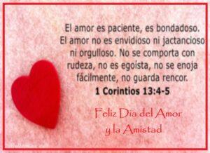 Feliz Día del Amor corintios