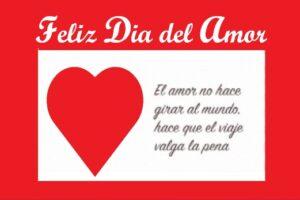 Feliz Día del Amor mundo