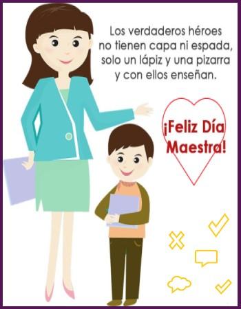 Día del maestro feliz