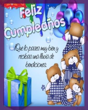 bendiciones en tu cumpleaños corazon