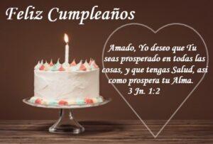 cumpleaños con palabra de Dios alma